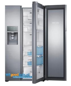 Samsung amerikaanse koelkast rh57h90707f eg witgoedhuis - Model amerikaanse keuken ...