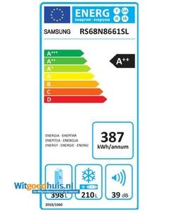 Samsung RS68N8661SL/EF Amerikaanse koelkast
