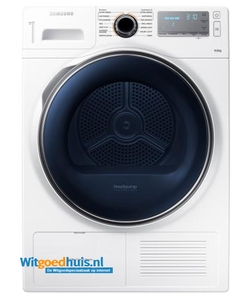 Samsung wasdroger DV90H8000HW/EN