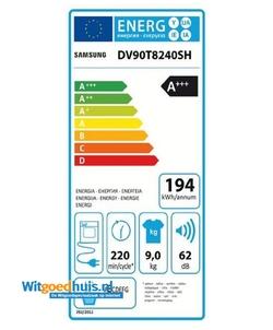 Samsung DV90T8240SH/S2 wasdroger