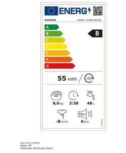 Samsung WW80TA049TE/EN wasmachine