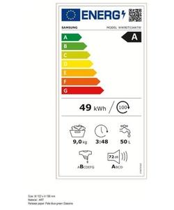 Samsung WW90T534ATW/S2 wasmachine