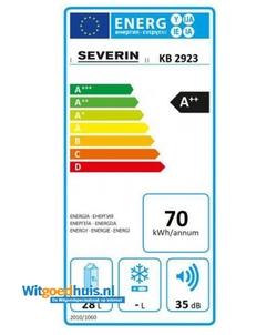Severin KB 2923 accessoire