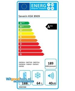 Severin KGK 8909 koelkast