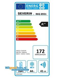 Severin RKG 8931 koelkast