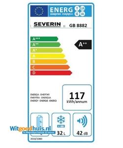 Severin GB8882 vrieskast