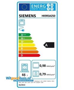 Siemens HK9R3A250 iQ300 fornuis