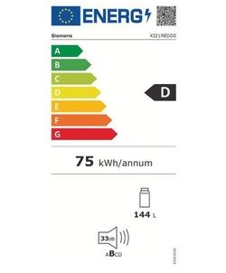 Siemens KI21REDD0 inbouw koelkast
