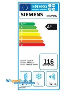 Siemens KI81RAD30 iQ500 inbouw koelkast