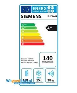 Siemens KU15LA65 iQ500 inbouw koelkast