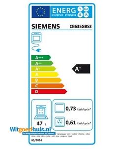 Siemens CB635GBS3 iQ700 inbouw oven