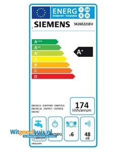 Siemens SK26E221EU iQ300 vaatwasser