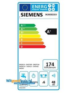 Siemens SK26E821EU iQ300 vaatwasser