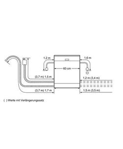 Siemens SN258B00NE vaatwasser
