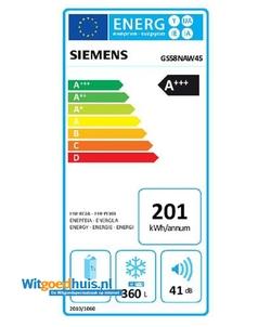 Siemens GS58NAW45 vrieskast
