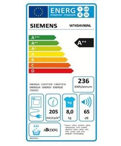 Siemens WT45HV90NL wasdroger