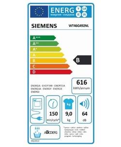 Siemens WT46G492NL wasdroger