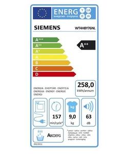 Siemens WT4H8Y76NL iQ800 Extra Klasse wasdroger