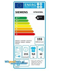 Siemens WT8HXE90NL wasdroger