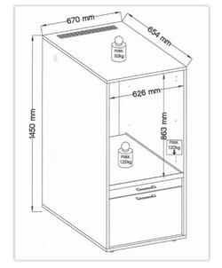 Wastoren WSCS1462-1 accessoire