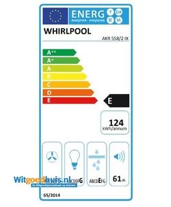 Whirlpool AKR 558/2 IX afzuigkap