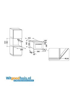 Whirlpool AMW799IX inbouw magnetron