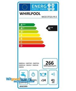 Whirlpool WCIO 3T321 PS E inbouw vaatwasser