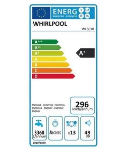 Whirlpool WI 3010 inbouw vaatwasser