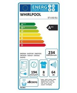 Whirlpool ST U 82 EU wasdroger