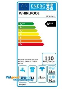 Whirlpool FSCR12432 ZEN wasmachine