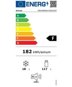 Zanussi ZRG14800WA koelkast