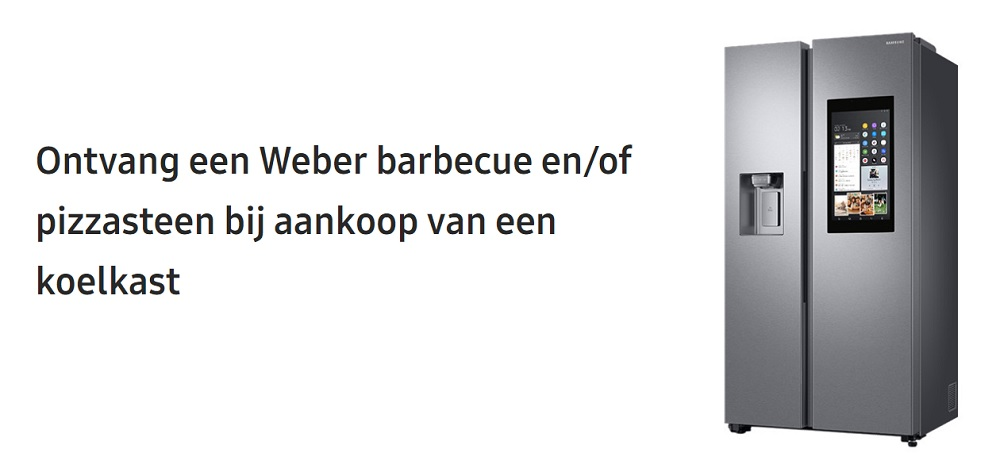 Weber barbecue en/of pizzasteen cadeau