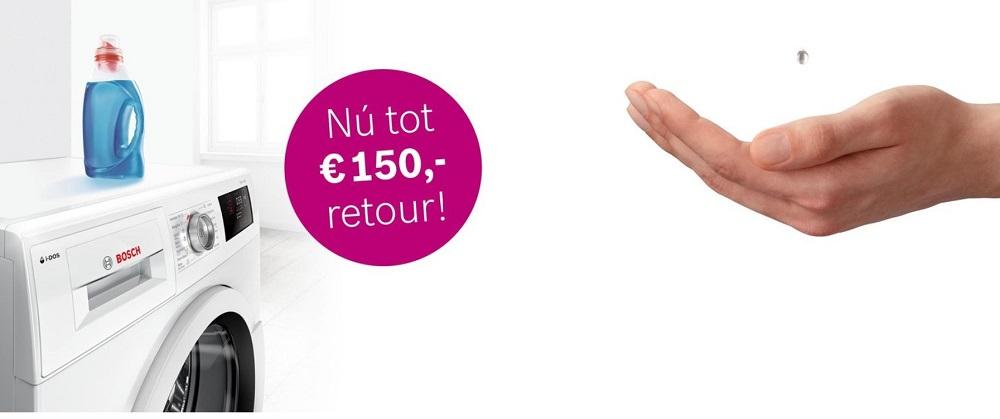 Tot 150 euro retour