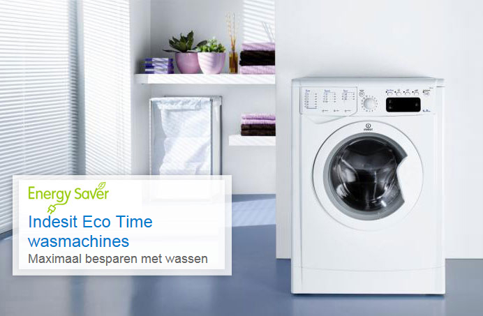 Indesit witgoedapparaten